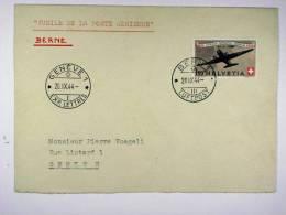Switserland:  25 Jahre Luftpost 1944,   Mi 438