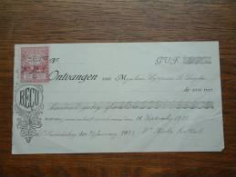 Lippens De Saegher à Goethals St. Amansberg / 1922 ( Quittance / Reçu ) ! - Lettres De Change