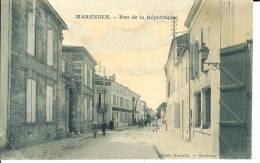 CPA  MARENNES, Rue De La République 5546 - Marennes
