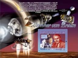 GUINEA 2007 - W. Von Braun, J.F.Kennedy - Mi B1471, YT BF773