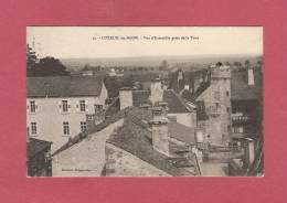 *  CPA  ( 70 )  LUXEUIL :  Vue D'ensemble Prise De La Tour  - ( 2 Scans ) - Luxeuil Les Bains