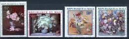 Mali 1968 Flowers, Paintings MNH** - Lot. 1499 - Mali (1959-...)