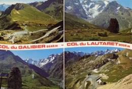LES COLS DU GALIBIER - LAUTARET - Multivues - France