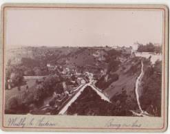 PHOTO 89 MAILLY LE CHATEAU Panorama Du Bourg Du Bas Période Fin XIX° Format 12.5 X 9.5 Cms Rare - Places