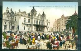 Monte Carlo - Le Casino Et Terrasse Du Café De Paris  - Uj91 - Non Classés
