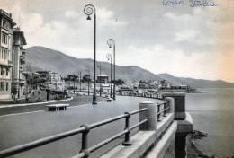 """Bellissima   Cartolina   Anni  50      """"  Genova   -  Corso Italia  """" - Genova (Genoa)"""