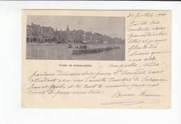 MIDDELKERKE / ZEEDIJK EN STRAND 1900 - Middelkerke