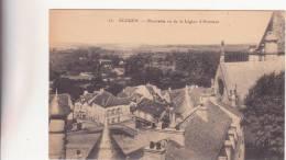 CPA  -   23.  ECOUEN   - Panorama Vu De La Légion D´Honneur - Ecouen