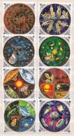 Burundi MNH Perforated And Imperforated Set - Astrology
