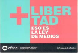 LIBERTAD ESO ES LA LEY DE MEDIOS REPUBLICA ARGENTINA A�O 2012