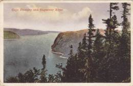 Cape Eternity And Saguenay River, Quebec, Canada, PU-1930 - Saguenay