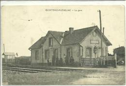 22- QUINTENIC-PLEDELIAC   La GARE   RARE - France