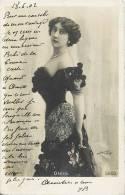 OTERO ARTISTE THEATRE OPERA DANSEUSE CELEBRITE 1900 - Théâtre