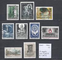 Oostenrijk 1964 - 9 Zegels Gest./obl./used - 1961-70 Usados