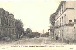76 - BONSECOURS - COLLECTION DE LA Cie DES TRAMWAYS DE BONSECOURS - ARRIVEE - Bonsecours