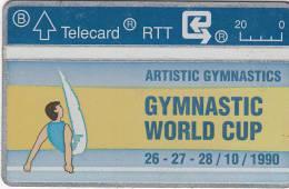 BELGIUM - Gymnastic World Cup 1, CN : 009E, Used - Belgium