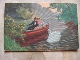 Couple   - Man And Woman - Antoni Brunner  Milé Chvíle - Swan    D87649 - Couples