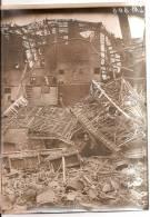 Photo Originale (17x13) Des Ruines De La Grande Guerre, Mines D´Aniche Lavoir De Somain, Vue  De L´appareil De Lavage - Fotografía