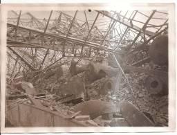 Photo Originale (17x13) Des Ruines De La Grande Guerre, Mines D´Aniche - Photographie