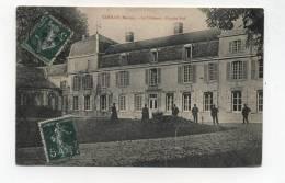 CPA 51 :  COOLUS   Le Château   Animée   1908    A   VOIR   !!!!! - Autres Communes