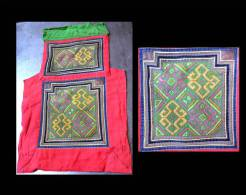Textile Traditionnel H´mong / Vintage Hmong Textile Baby Carrier - Art Africain