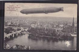 C10  /    Zeppelin /  über Frankfurt Um 1910 - Zeppeline