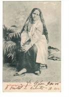 ASIE---SINGAPOUR--- Malay Woman   (etat Moyen)-- Voir 2 Scans - Singapore
