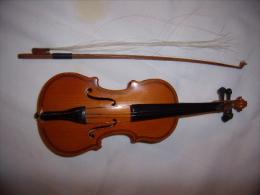 Violon Et Archet  Pour Décoration - Musikinstrumente
