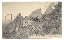 Courmayeur (Italie,Val D'Aoste) : Rifugio Di Torino Col Des Géants En 1910 (animé). - Italy