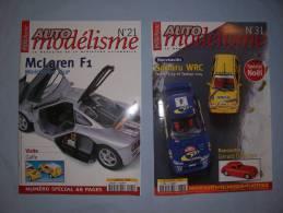 Magazine Auto Modélisme Du:(n°21 (janvier) à:(n°31(decembre) (1998) - Autres Collections