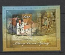 6.Hungary Tihany Kirche  2012 MNH Sheet - Unused Stamps