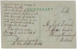 Hardewijck / Briefkaart Verzonden Naar Barak 40 - Kamp Hardewijck - Holland  1918 - Harderwijk