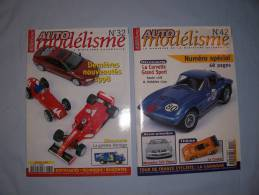 Magazine Auto Modélisme  (n°32) (janvier) (n42) (decembre) (1999) - Autres Collections