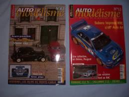Magazine Auto Modélisme (n°43) (janvier)  (n°53) (decembre) (2000) - Autres Collections