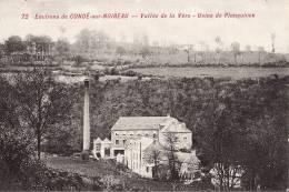 CONDE SUR NOIREAU VALLEE DE LA VERE USINE DE PLANQUIVON - France