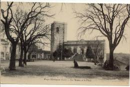 Puy L Eveque Lot La Mairie Et La Place - France