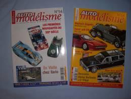 Magazine Auto Modélisme  (n°54) (janvier) (n°64) (decembre) (2001) - Autres Collections