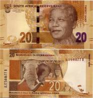 SOUTH AFRICA       20 Rand       P-New       ND (2012)       UNC - Afrique Du Sud