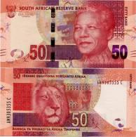 SOUTH AFRICA       50 Rand       P-New       ND (2012)       UNC - Afrique Du Sud