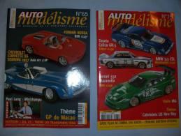 Magazine Auto Modélisme  (n°65) (janvier) (n°75) (decembre) (2002) - Autres Collections