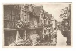 G1448 Canterbury - Weavers Houses And River Stour - Old Mini Card / Non Viaggiata - Canterbury