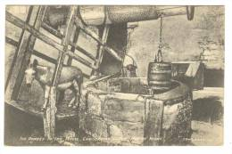 G1449 Carsbrooke Castle - The Donkey In The Wheel - Old Mini Card / Viaggiata 1927 - Inghilterra