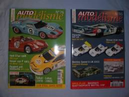 Magazine Auto Modélisme  (n°76) (janvier) (n°86) (decembre) ( 2003) - Autres Collections