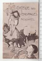 Cortège Des Vendanges Neuchâtel - Carte Officielle - Manifestations