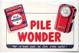 Buvard - Pile Wonder - Piles