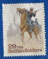 1994 - Amérique Du Nord - Etats-Unis - Chasse Aux Bisons - 29 C Multicolore - - Gibier