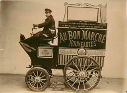 Photo An1800-1900 Constructeur René Breteau Rue Championnet 18° Paris 75 (automobile Au Bon Marché Avec Chauffeur) - Automobile