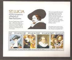 - 2797 A -  BLOK  12 - St.Lucia (1979-...)