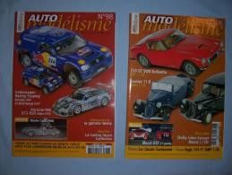Magazine Auto Modélisme  (n°98) (janvier) (n°108) (decembre)  ( 2005) - Autres Collections