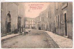81 TARN DOURGNE La Rue De Rome, Tabac, Postes Et Télégraphes  4 - Dourgne